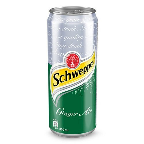 SCHWEPPES GINGER ALE CAN 300 ML