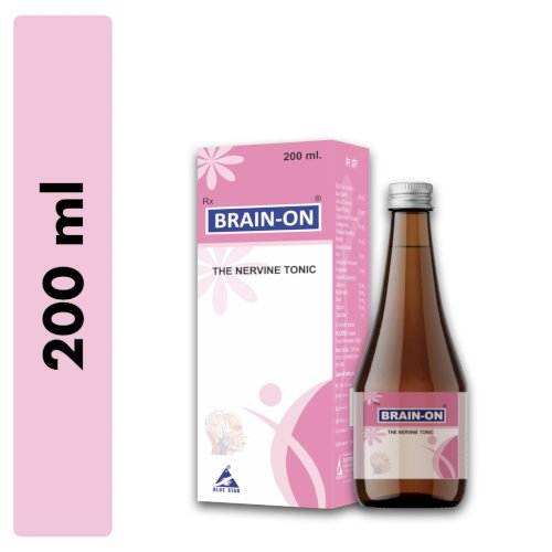 Brain-On Syrup for brain health and memory (200 ml) - Pack of 2