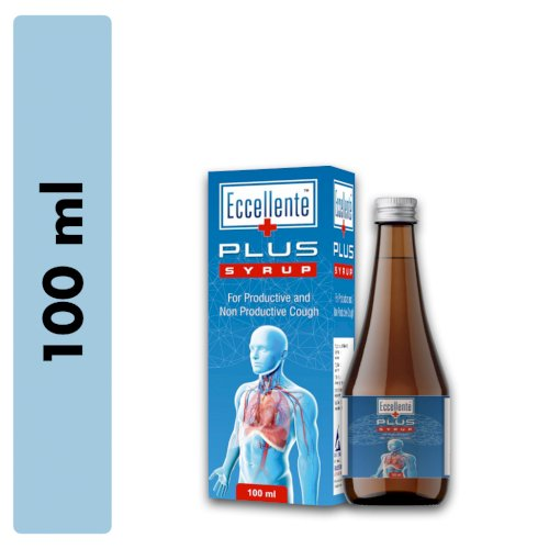 Eccellente Plus Cough Syrup (100 ml) - Pack of 2