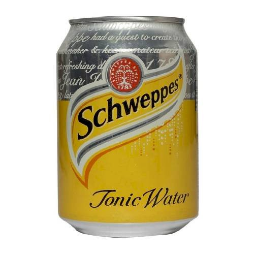 SCHWEPPES TONIC WATER CAN 300 ML